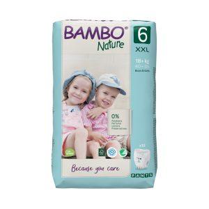 bambo natural eco friendly gacice size 6