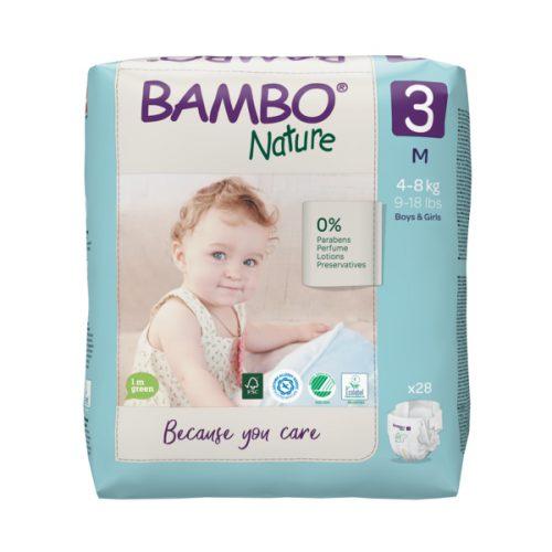 bambo nature eco friendly size 3
