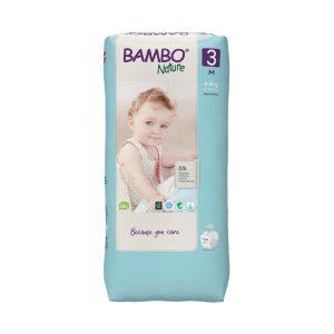 bambo nature eco friendly - size 3 Tall